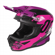 Shot Furious Youth MX Helmet Shadow Gloss Pink